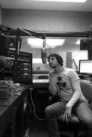 Sheamus Nolan at the mic