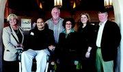 Donna Slimak (Director of Member Services, CenCal Health) - Outstanding Effort Award; Tariq Kadri (Kadri and Associates) - Design / Accessibility Award; Steve Cushman (President, Santa Barbara Region Chamber of Commerce) - Media Award; Helene Schneider, Mayor of Santa Barbara; Jennifer Rose (Manager, Hollister Brewing Company) - Employment / Accommodation Award; Rob Egenolf (Egenolf and Associates) - Media Award