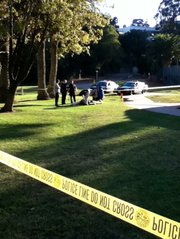 Homeless man dies in Pershing Park