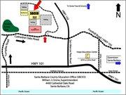 Santa Barbara County Education Office map