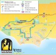 Goleta leg of Marathon course