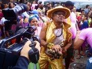 The first massive gay pride event in a Rio de Janeiro favela enjoyed a strong media presence.