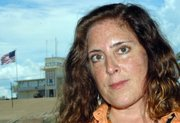 Lisa Hajjar at Guantanamo Bay Naval Base