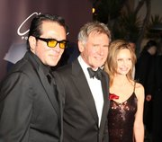 Roger Durling, Harrison Ford, and Calista Flockhart