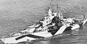 USS California, late WWII