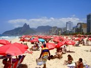 The Rio beach experience is like no other. Throughout a Saturday, the beach filled with tourists, locals and vendors alike.
