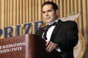 Demetri Argyropoulos at the 2010 Gusi Peace Prize Awards