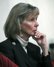 <strong>BATTEN THE HATCHES:</strong>  After enjoying four years as part of the majority party, Democratic Congressmember Lois Capps (above) is girding for the new Republican majority, which begins next year. Indirect reverberations caused by the new wave of more fiscally austere Republicans just cost Capps's district nearly $14 million in earmarks.