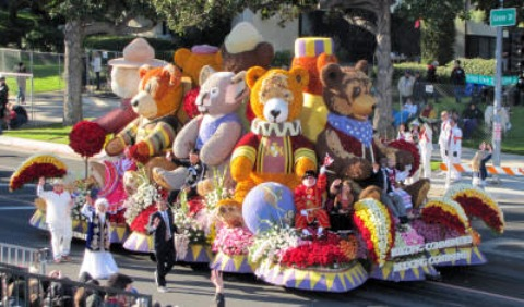 rotary float in rose parade for 32nd straight year. Black Bedroom Furniture Sets. Home Design Ideas
