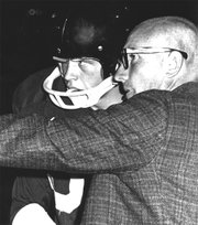 Dick Prigge, Dos Pueblos High School's pioneering athletics director and head football coach, went on to lead the school as its vice principal and principal. He died on December 26, 2010.