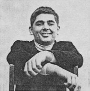 1965 Denis Dutton in La Cumbre yearbook's KCSB pages.