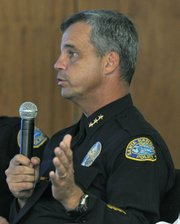 "<strong>ARSENAL ADDITION:</strong>  After more than a year of research and analysis, Santa Barbara city police have embraced the controversial gang injunction as a way to combat gang violence. ""It's not a magic bullet. It will not make gangs disappear,"" cautioned Assistant Police Chief Frank Mannix. ""But it will give us more leverage."""