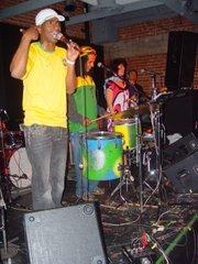 Brazilian musicians at SOhO event.