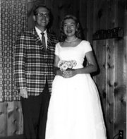 Marjorie and Eugene Johnsen during their 10th wedding anniversary