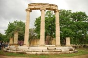 Temple of Phillippeon,  Olympia.