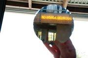 """Mirror image ofKori Newkirk's """"No Visible Neurosis"""" at Palm Loft in Carpinteria."""