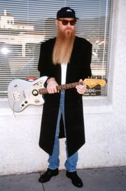 Billy F Gibbons (Santa Barbara, ca. 1986)