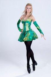 Like the rest of the cast, <em>Ireland</em> choreographer and performer Sinead Fallon is a world-class Irish dancer.