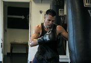 Francisco Santana puts in a quick workout at Primo June 27, 2011
