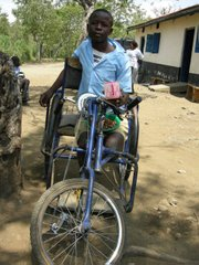 Kenyans cope with disabilities in creative ways.