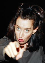Comedian Ann Randolph brings her moving, laugh-out-loud solo show to Santa Barbara.