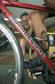 Bruce davis from Hazard's Cyclesport