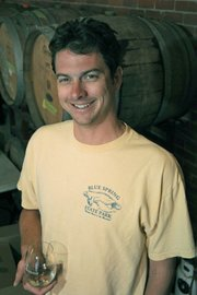 Christian Garvin of Oreana Winery