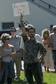 Occupy Santa Barbara protest