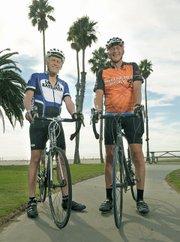 Kalon Kelley (left) and Bill Lindberg