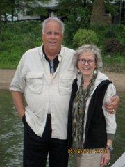 "Glenn ""Rhino"" Griffith with friend Elaine St. James"