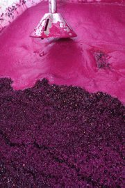 Wine begins its fermentation process at Pres'quile Winery.