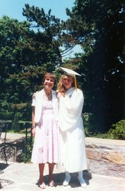 The author and her mother, Dr. Lesley Bunim Heafitz, MD.