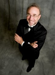 Guest conductor Bob Bernhardt has big plans for everybody for New Year's Eve.