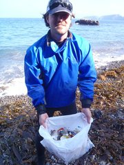 Anacapa Island Cleanup Day with Santa Barbara Adventure Company and SB ChannelKeeper