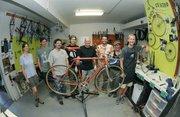 The Bici Centro crew located at the Casa de la Raza June 5, 2008