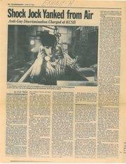 <em>The Santa Barbara Independent</em>'s June 22, 1989 story on Hannity's dismissal from KCSB