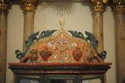 Native American–built altar.