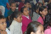 Students of Franklin Elementary School's kindergarten class