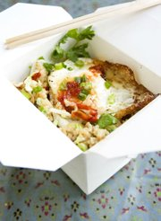 Fried Egg Fried Rice