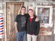Recovery Ranch residents James Swain and Chris Mason