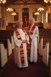 Lifelong Roman Catholics Suzanne Dunn (left) and Jeannette Love did what the Vatican claims is impossible: They were ordained as women priests. They insist they're working within the church to make it more inclusive. But the Vatican insists they've been thrown out.