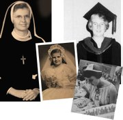 Former nuns Love (left) and Dunn claim they were called by the Holy Spirit to serve at relatively young ages (2nd grade and age 20, respectively), but the established church was not capable of accepting—or even recognizing—their calling.