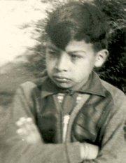 Alberto at around 6 years old, circa 1937.