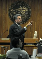 Defense attorney Ron Bamieh