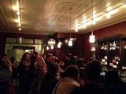 The bar at the Arlington Tavern.
