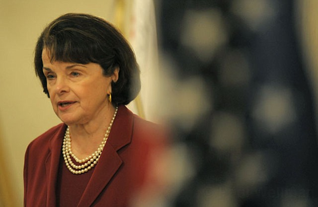 Senator Dianne Feinstein at the Canary Hotel (May 30, 2012)
