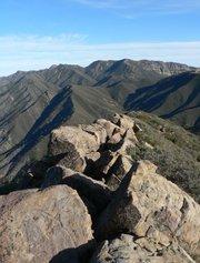 View atop Chief Peak