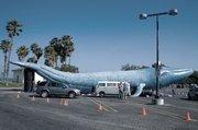 Blue whale float