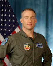 U.S. Stealth pilot Dale Zelko, who survived being shot down over Serbia on March 27, 1999.