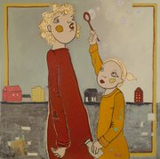 """""""Forever Blowing Bubbles"""" by Tami Snow"""